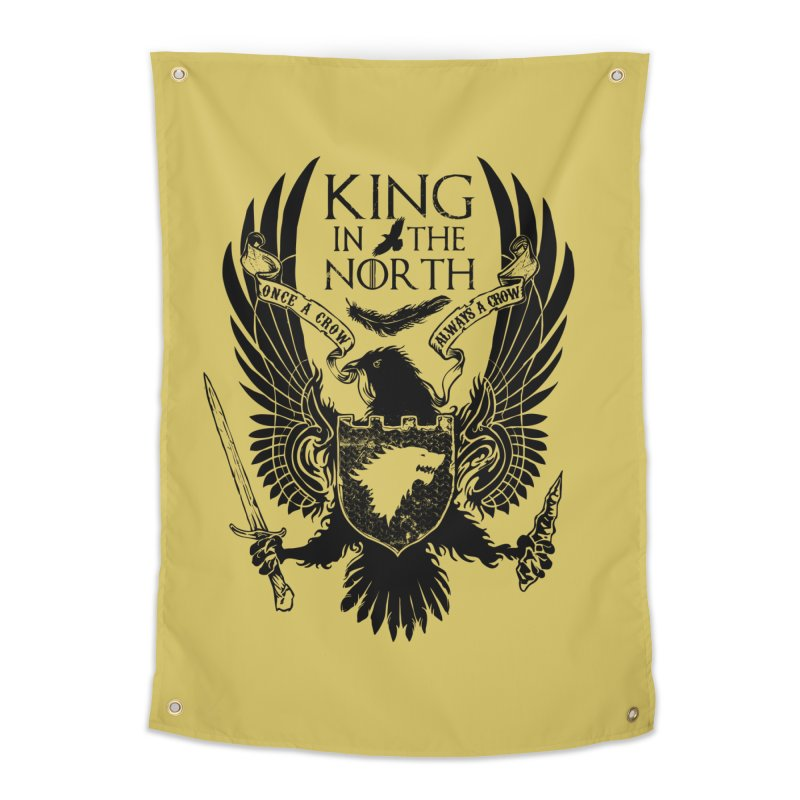 King in the North Home Tapestry by Ricomambo