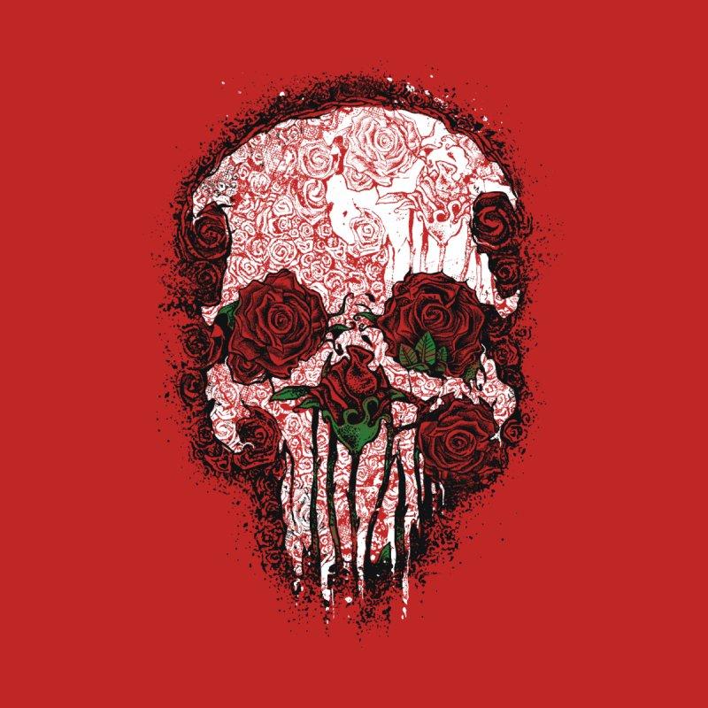Skull Roses None  by Ricomambo