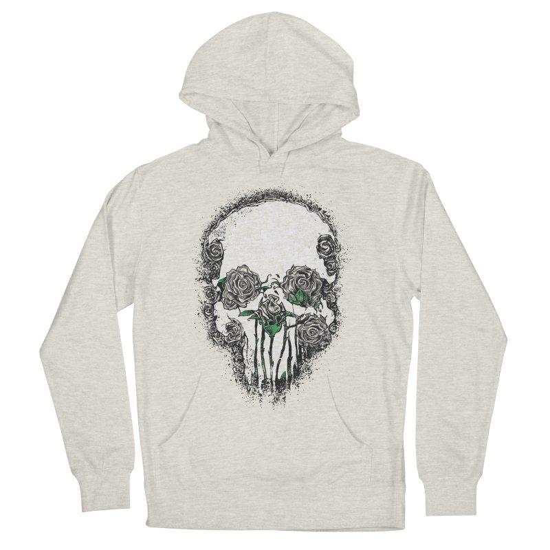 Skull Roses Women's Pullover Hoody by Ricomambo