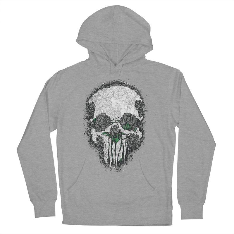 Skull Roses Men's Pullover Hoody by Ricomambo