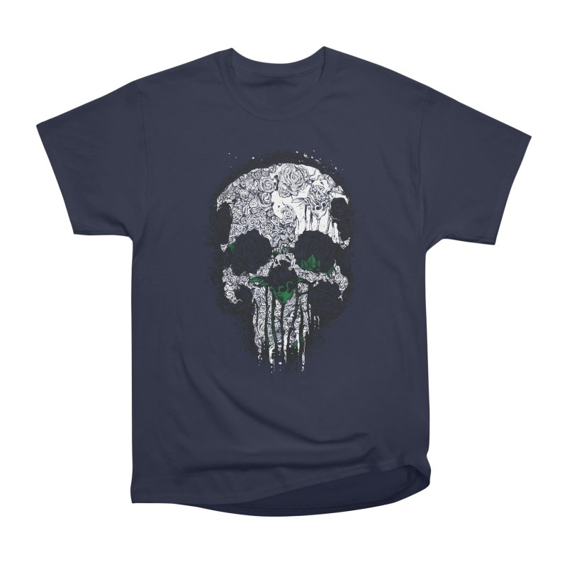 Skull Roses Men's Classic T-Shirt by Ricomambo