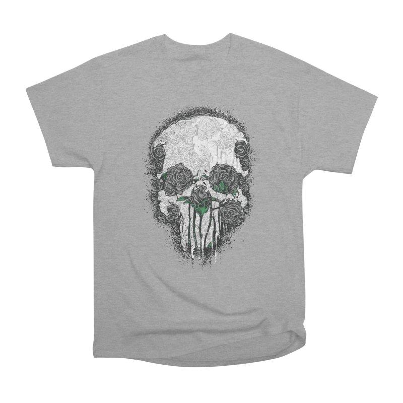 Skull Roses Women's Classic Unisex T-Shirt by Ricomambo
