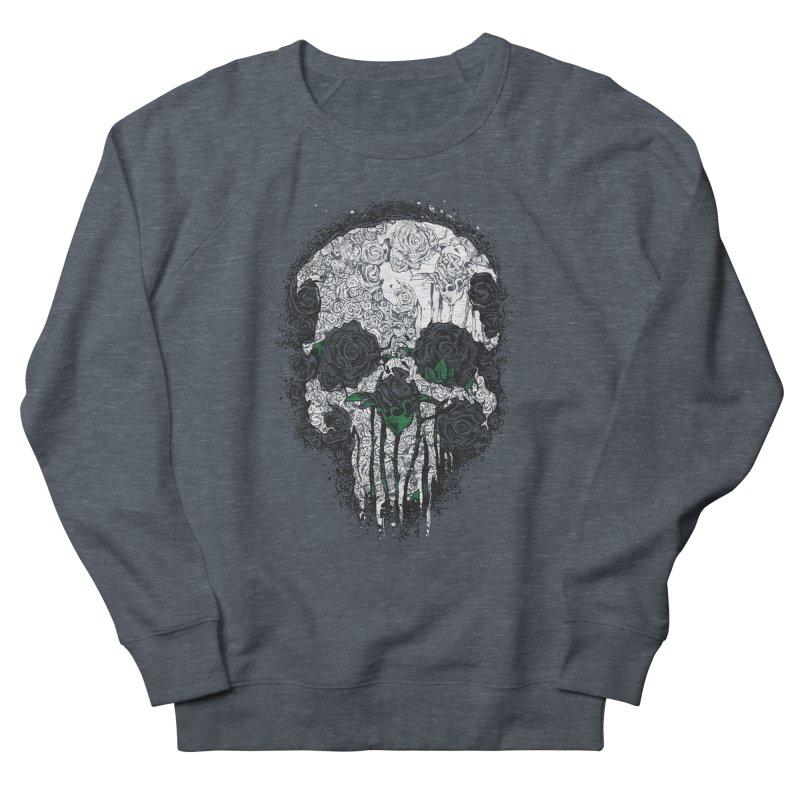 Skull Roses Men's Sweatshirt by Ricomambo