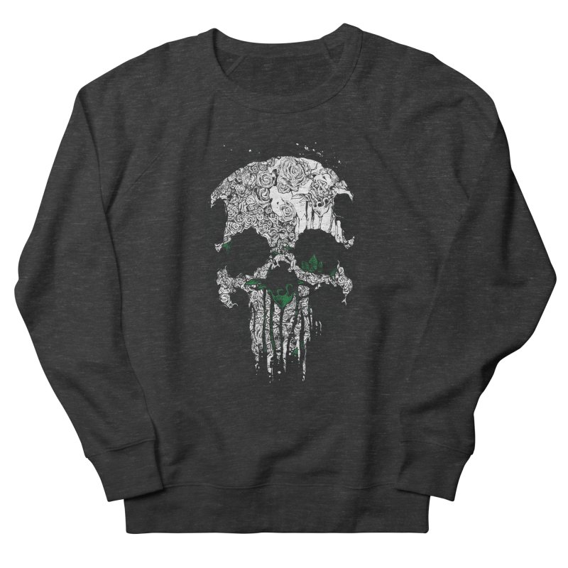 Skull Roses Men's Sweatshirt by Ricomambo