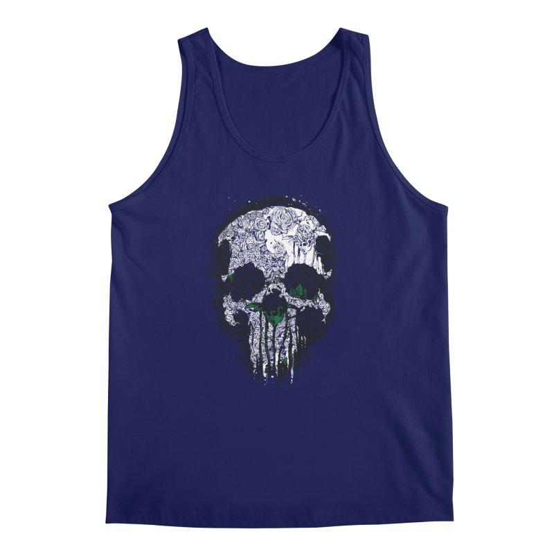 Skull Roses Men's Tank by Ricomambo