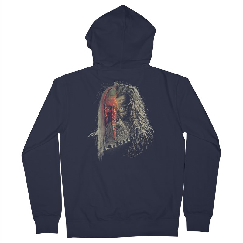 Evil Border Men's Zip-Up Hoody by Ricomambo