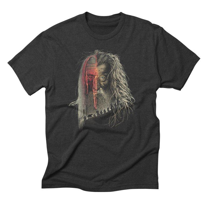 Evil Border Men's Triblend T-shirt by Ricomambo