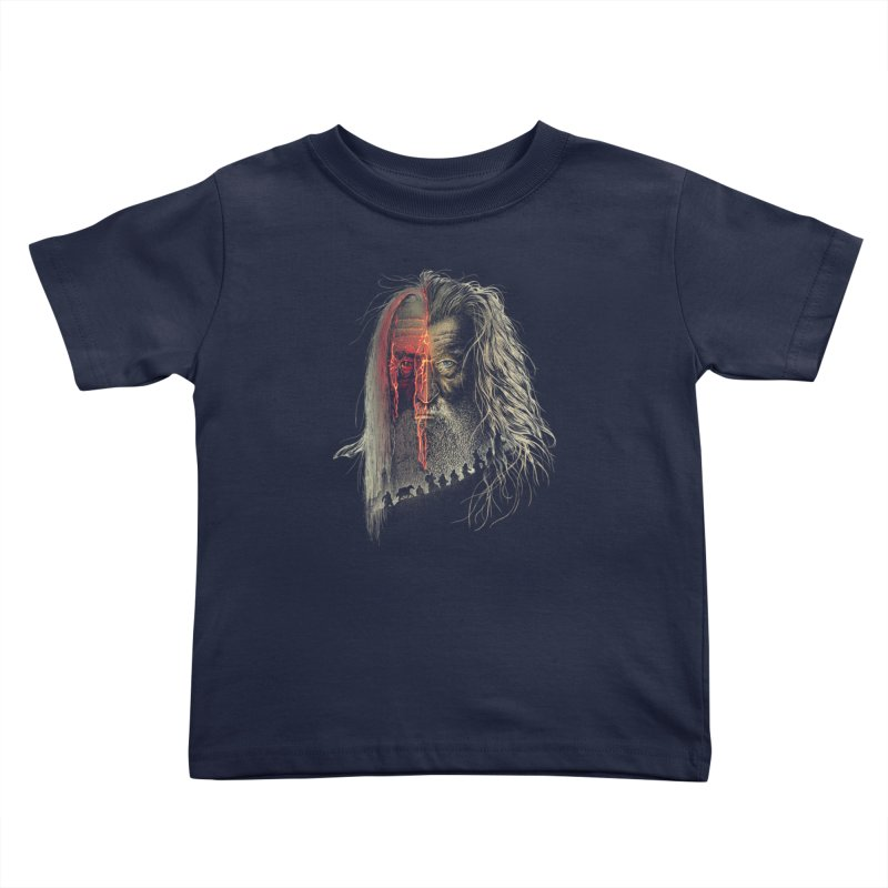 Evil Border Kids Toddler T-Shirt by Ricomambo