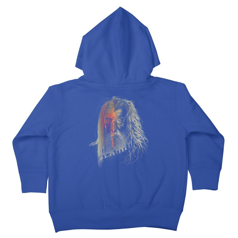 Evil Border Kids Toddler Zip-Up Hoody by Ricomambo