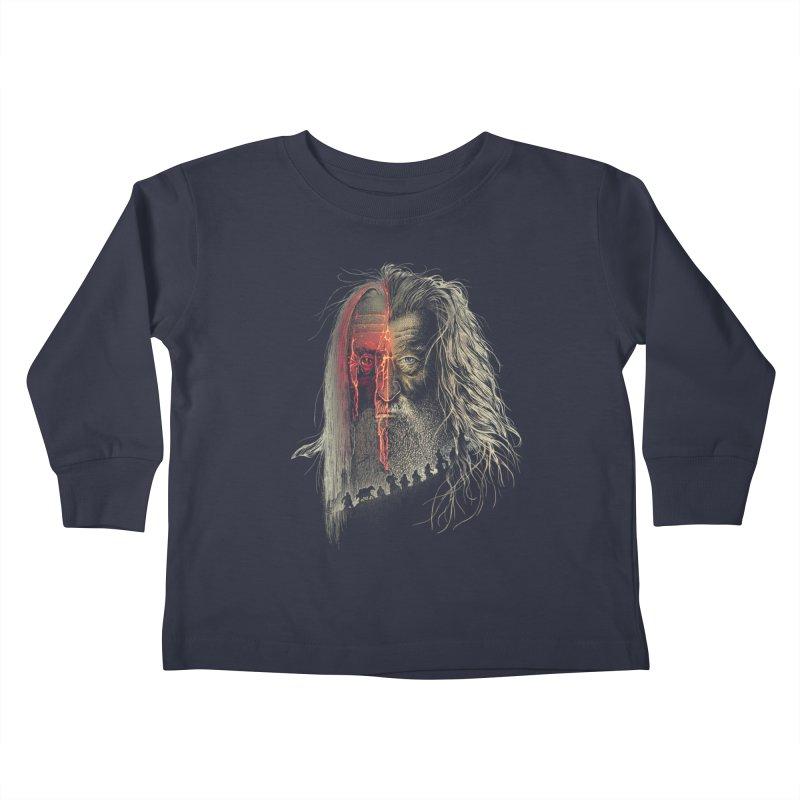Evil Border Kids Toddler Longsleeve T-Shirt by Ricomambo