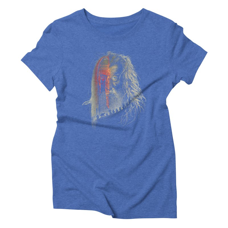 Evil Border Women's Triblend T-shirt by Ricomambo