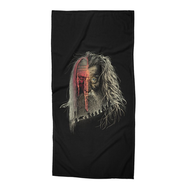 Evil Border Accessories Beach Towel by Ricomambo