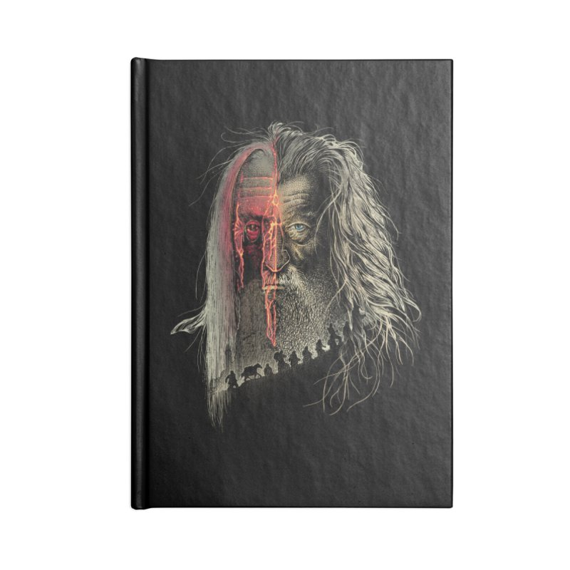 Evil Border Accessories Notebook by Ricomambo