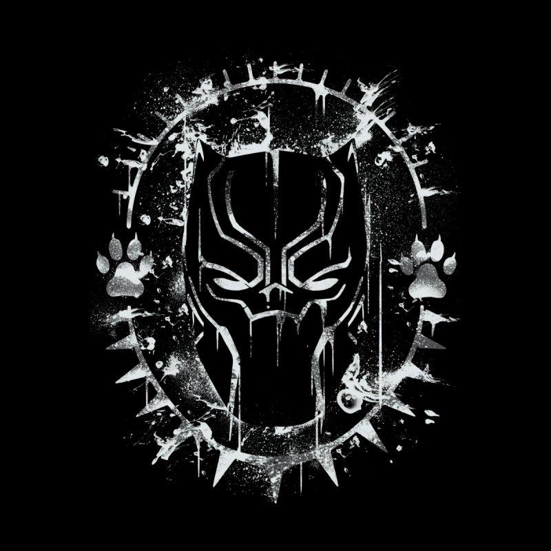 Black Panther Splatter by Ricomambo