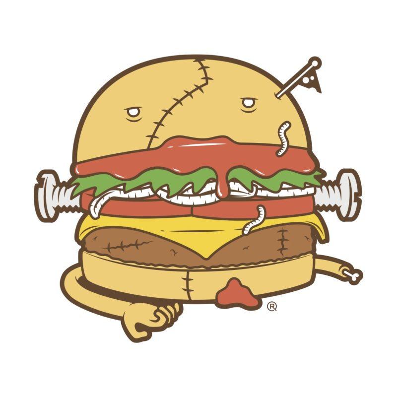 Burgerstein Kids T-Shirt by ricosquesos's Artist Shop