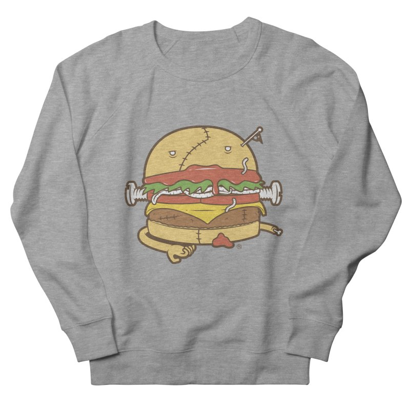 Burgerstein Women's French Terry Sweatshirt by ricosquesos's Artist Shop
