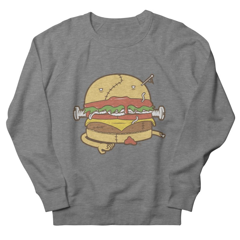 Burgerstein Men's French Terry Sweatshirt by ricosquesos's Artist Shop