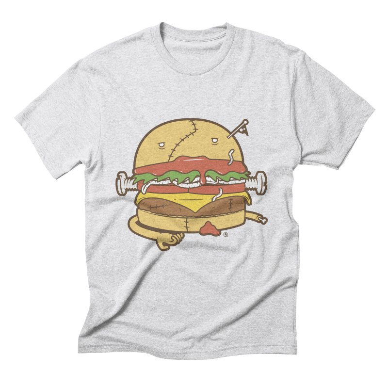 Burgerstein Men's Triblend T-Shirt by ricosquesos's Artist Shop
