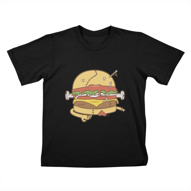 Burgerstein Kids T-Shirt by ricosquesos's Artist Shop