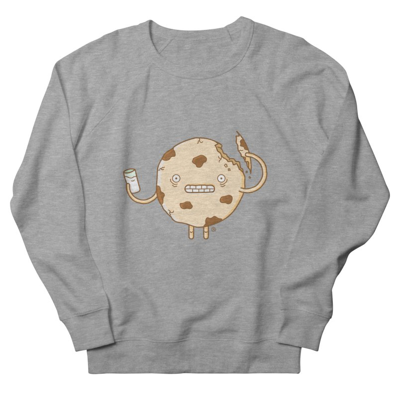 Cannibal Cookie Men's French Terry Sweatshirt by ricosquesos's Artist Shop