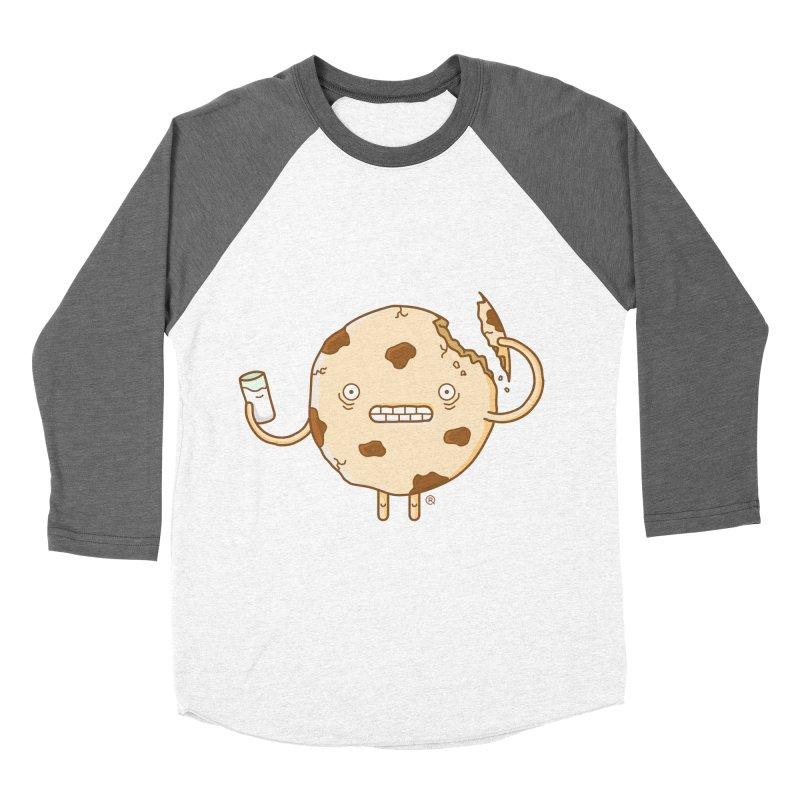 Cannibal Cookie Women's Baseball Triblend Longsleeve T-Shirt by ricosquesos's Artist Shop