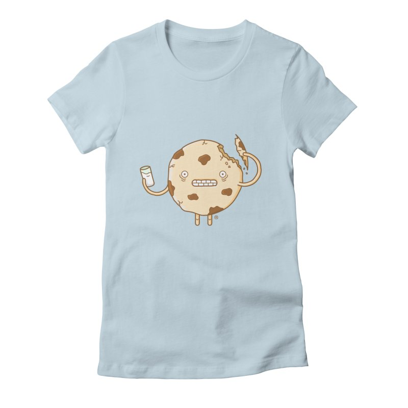 Cannibal Cookie Women's Fitted T-Shirt by ricosquesos's Artist Shop