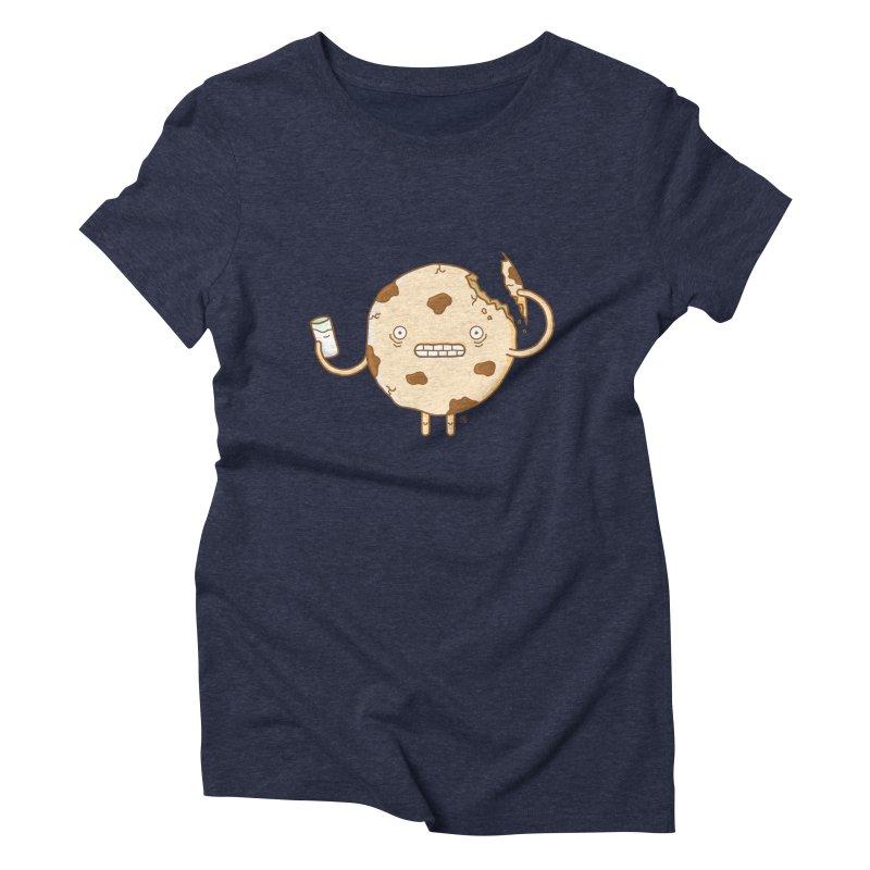 Cannibal Cookie Women's Triblend T-Shirt by ricosquesos's Artist Shop
