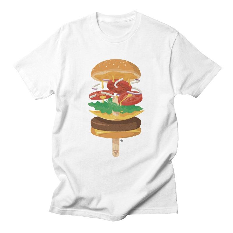 Summerburger Men's T-Shirt by ricosquesos's Artist Shop