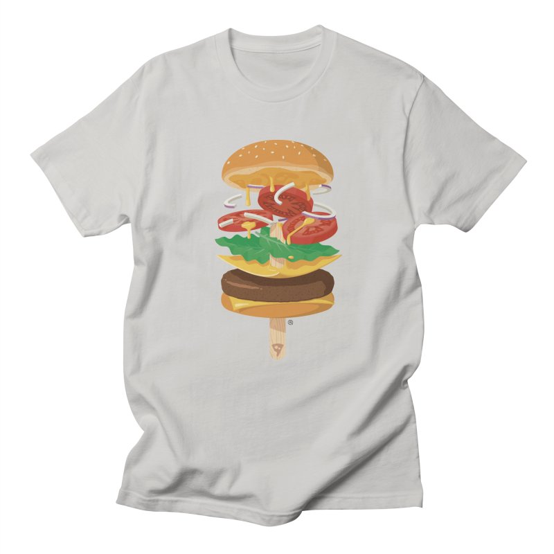 Summerburger Women's Regular Unisex T-Shirt by ricosquesos's Artist Shop