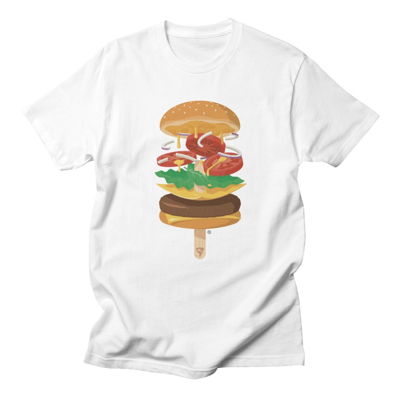 Summerburger Men's Regular T-Shirt by ricosquesos's Artist Shop