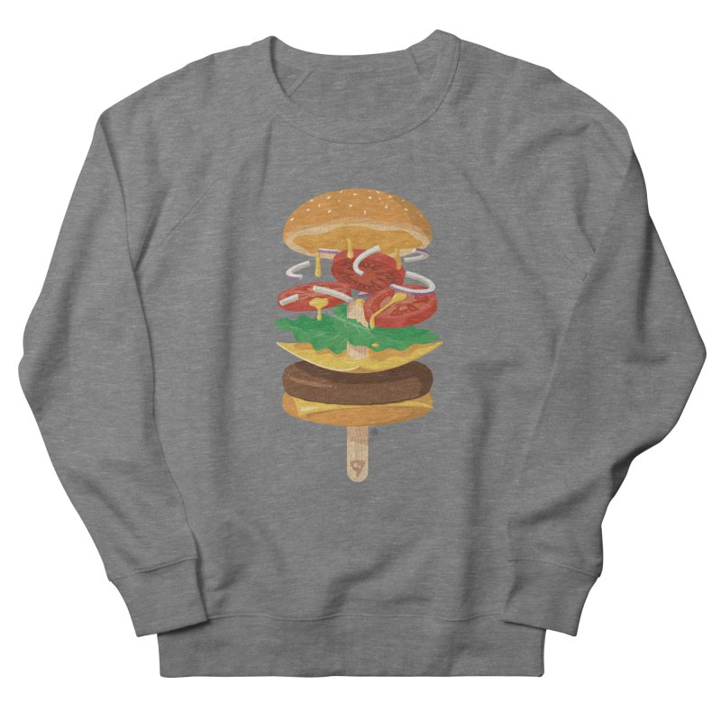 Summerburger Men's Sweatshirt by ricosquesos's Artist Shop