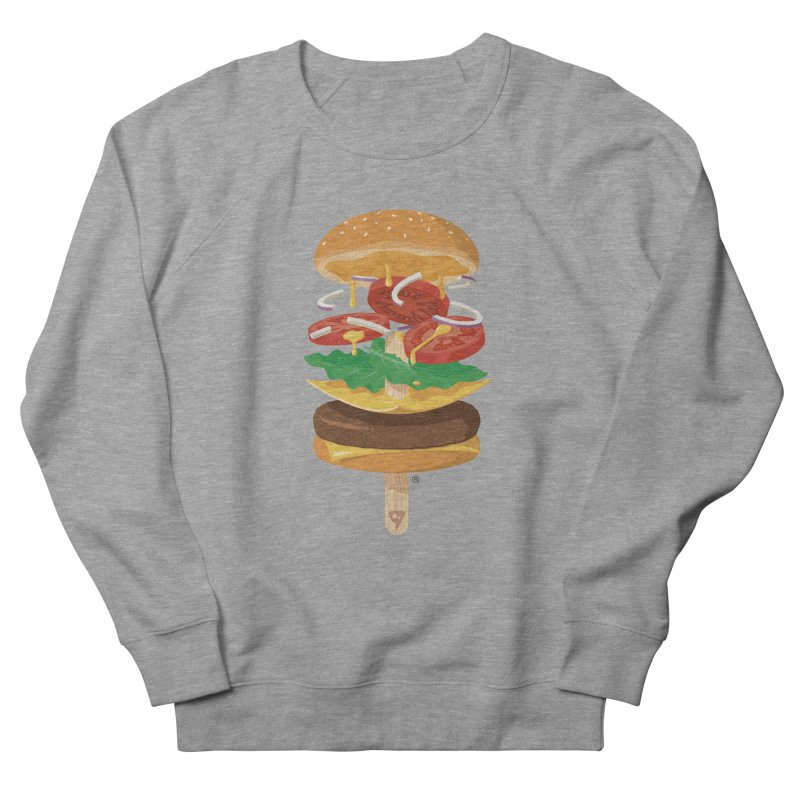 Summerburger Men's French Terry Sweatshirt by ricosquesos's Artist Shop