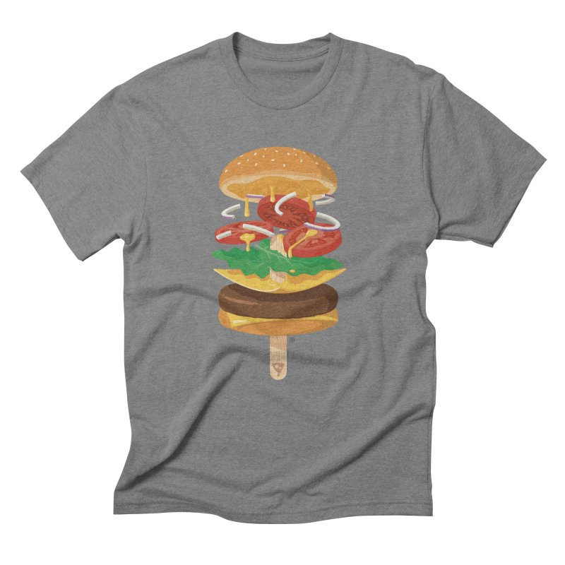 Summerburger Men's T-Shirt by ricosquesos's Artist Shop