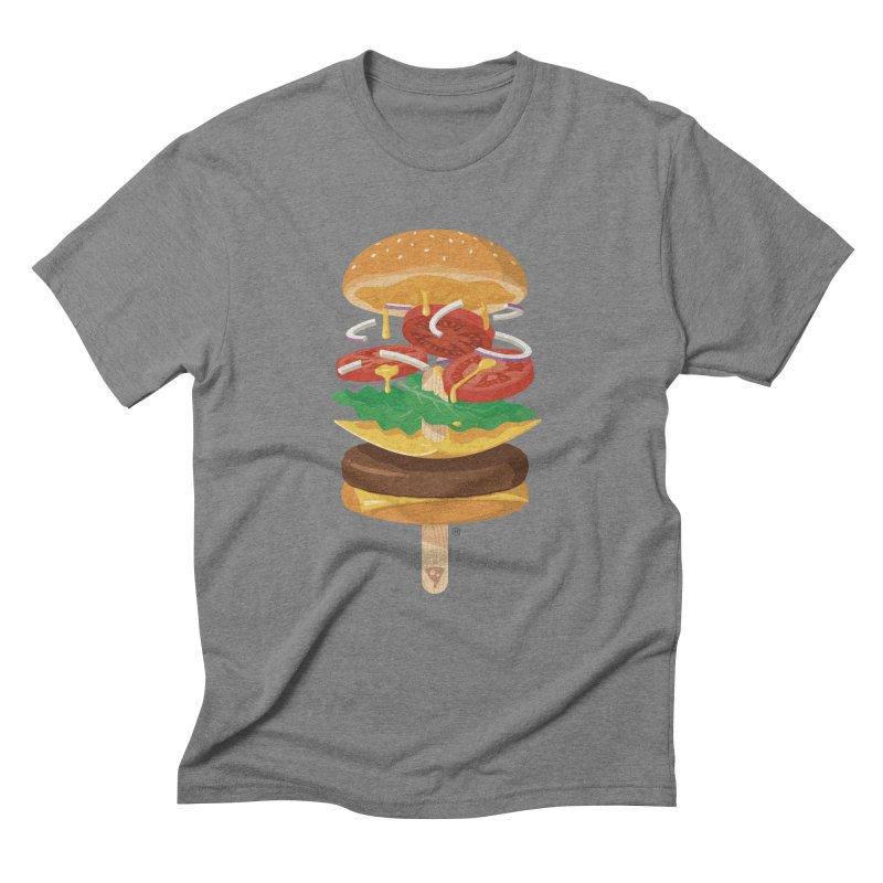 Summerburger Men's Triblend T-Shirt by ricosquesos's Artist Shop
