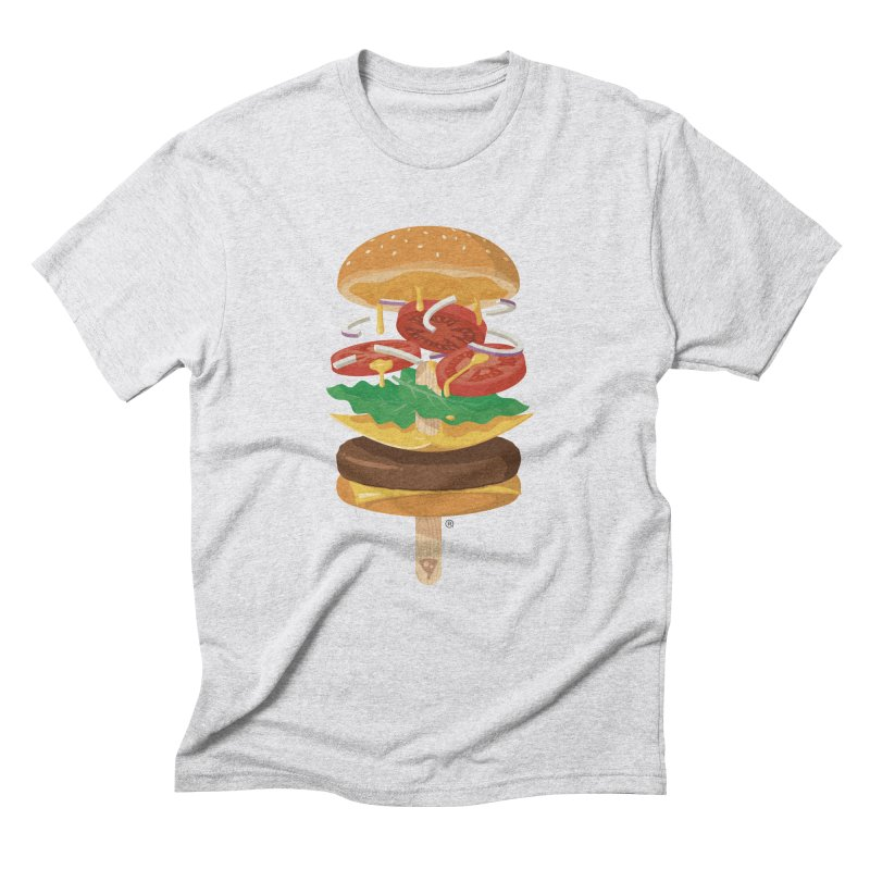 Summerburger Men's Triblend T-Shirt by ricosquesos's Artist Shop