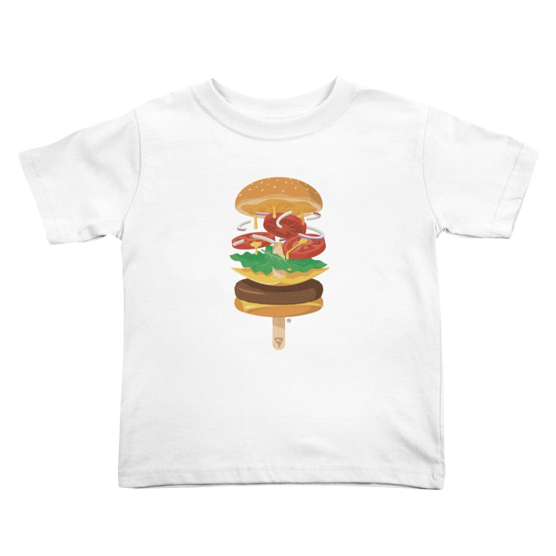 Summerburger Kids Toddler T-Shirt by ricosquesos's Artist Shop