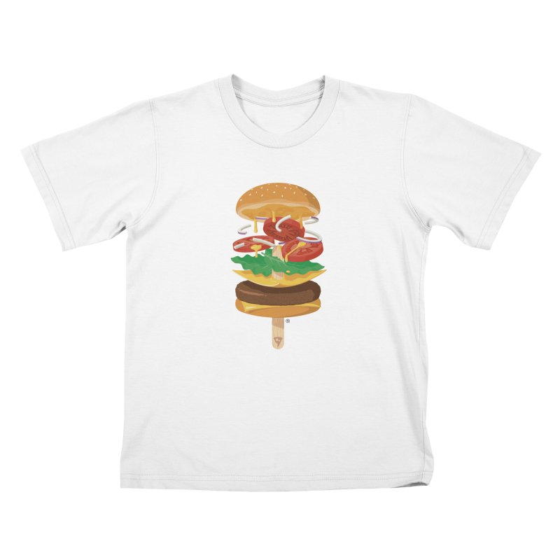 Summerburger Kids T-Shirt by ricosquesos's Artist Shop