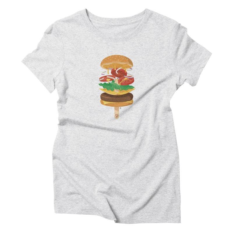 Summerburger Women's T-Shirt by ricosquesos's Artist Shop
