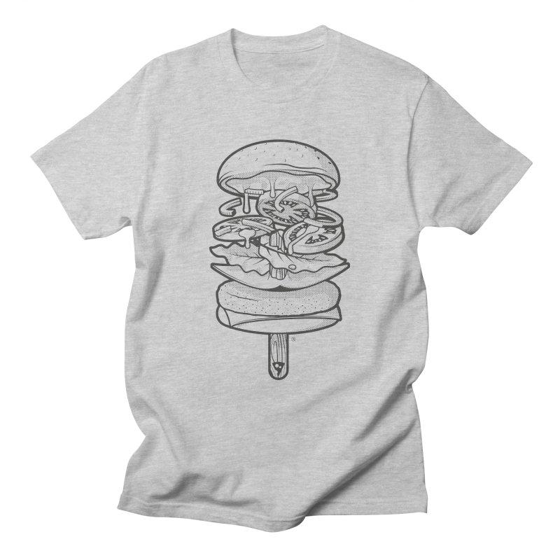 Summerburger Mono Men's T-Shirt by ricosquesos's Artist Shop