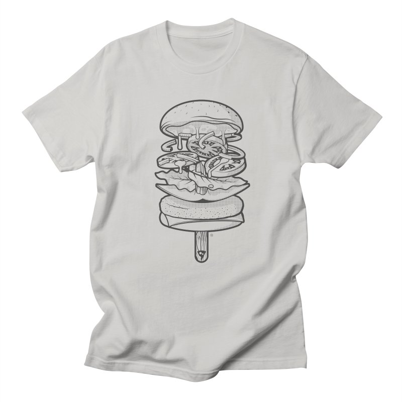 Summerburger Mono Men's Regular T-Shirt by ricosquesos's Artist Shop