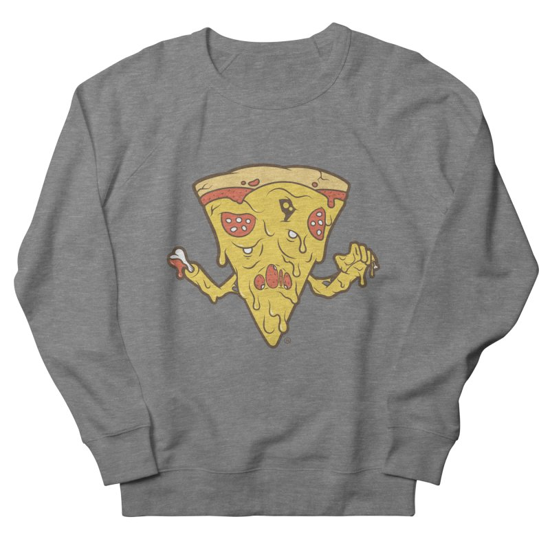 Pizzambie Men's French Terry Sweatshirt by ricosquesos's Artist Shop