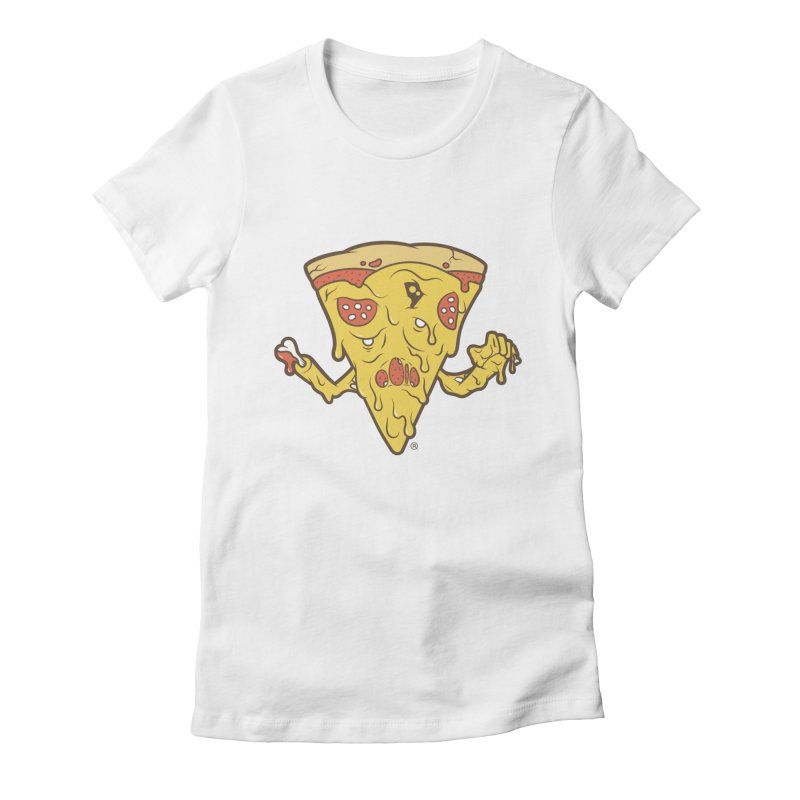 Pizzambie Women's Fitted T-Shirt by ricosquesos's Artist Shop