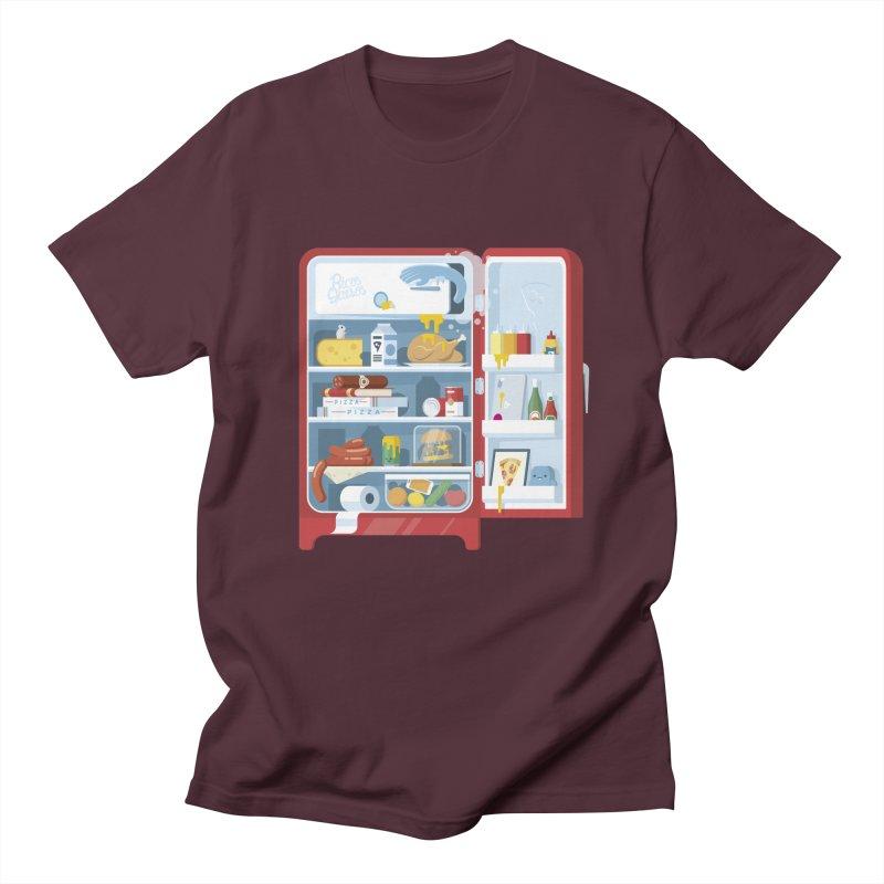 Our Fridge Men's Regular T-Shirt by ricosquesos's Artist Shop