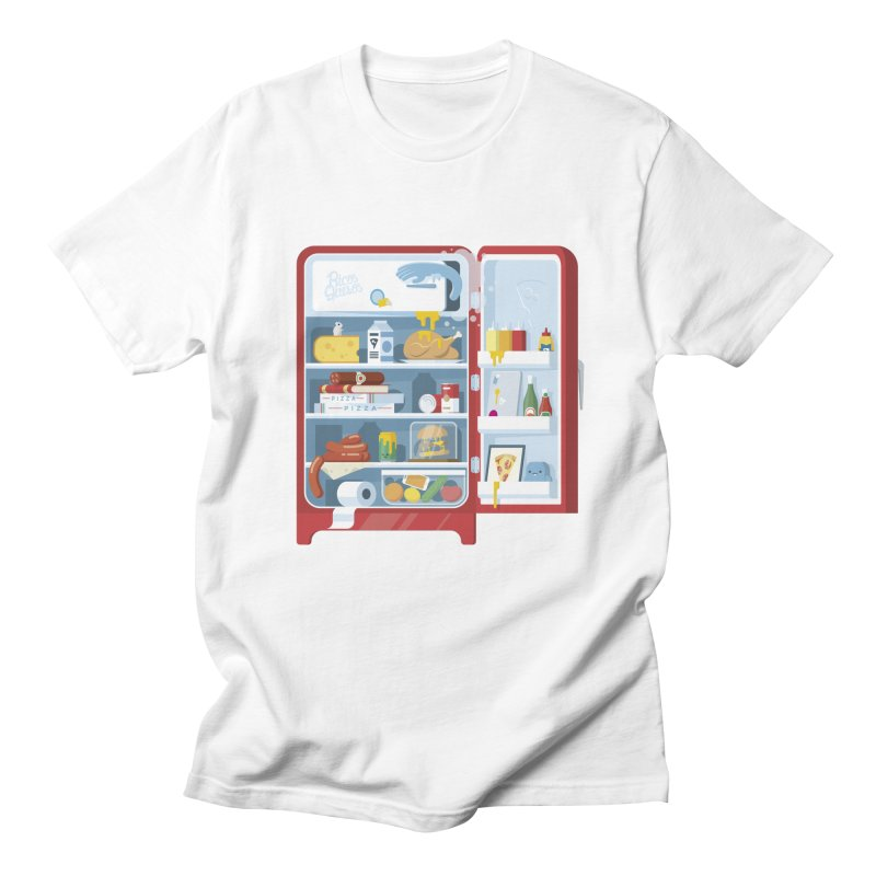 Our Fridge Men's Regular T-Shirt by ricosquesos's Artist Shop