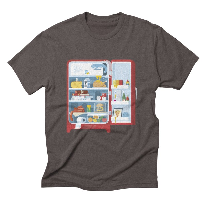 Our Fridge Men's Triblend T-Shirt by ricosquesos's Artist Shop