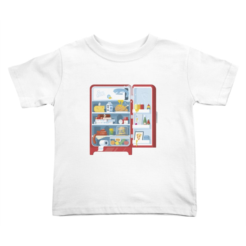 Our Fridge Kids Toddler T-Shirt by ricosquesos's Artist Shop