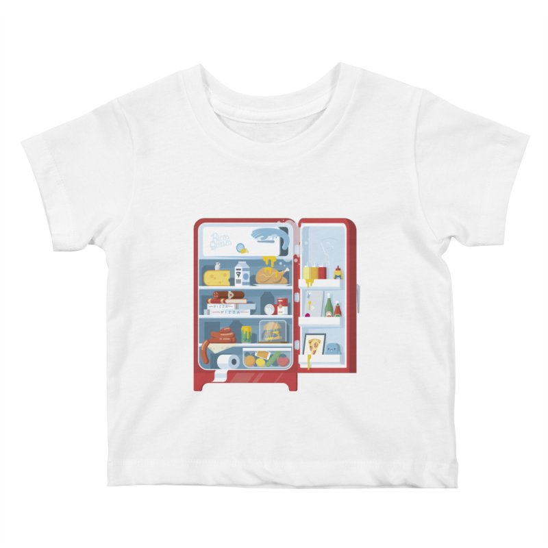 Our Fridge Kids Baby T-Shirt by ricosquesos's Artist Shop