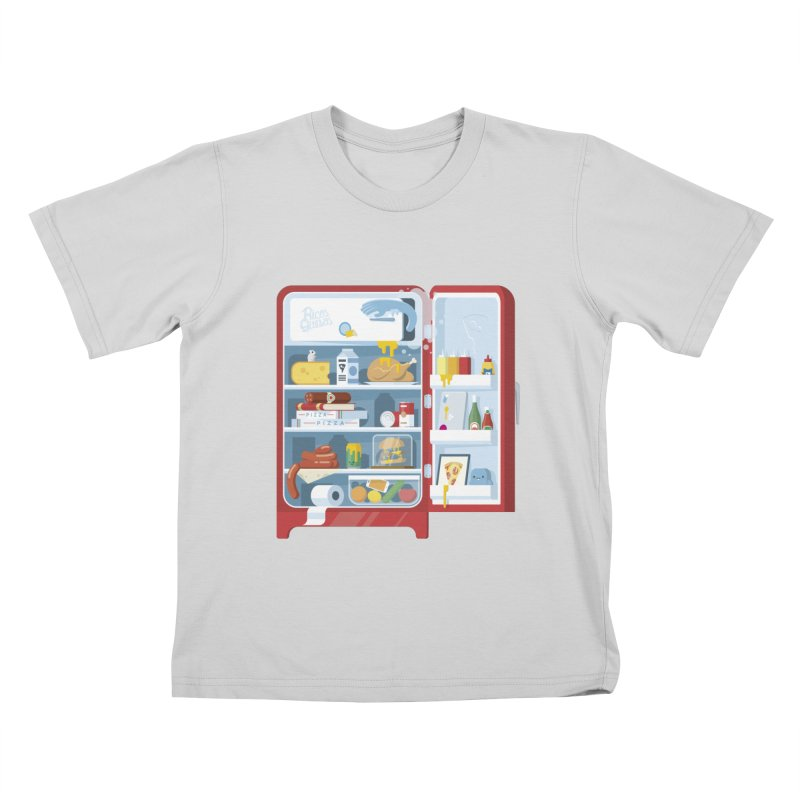 Our Fridge Kids T-Shirt by ricosquesos's Artist Shop