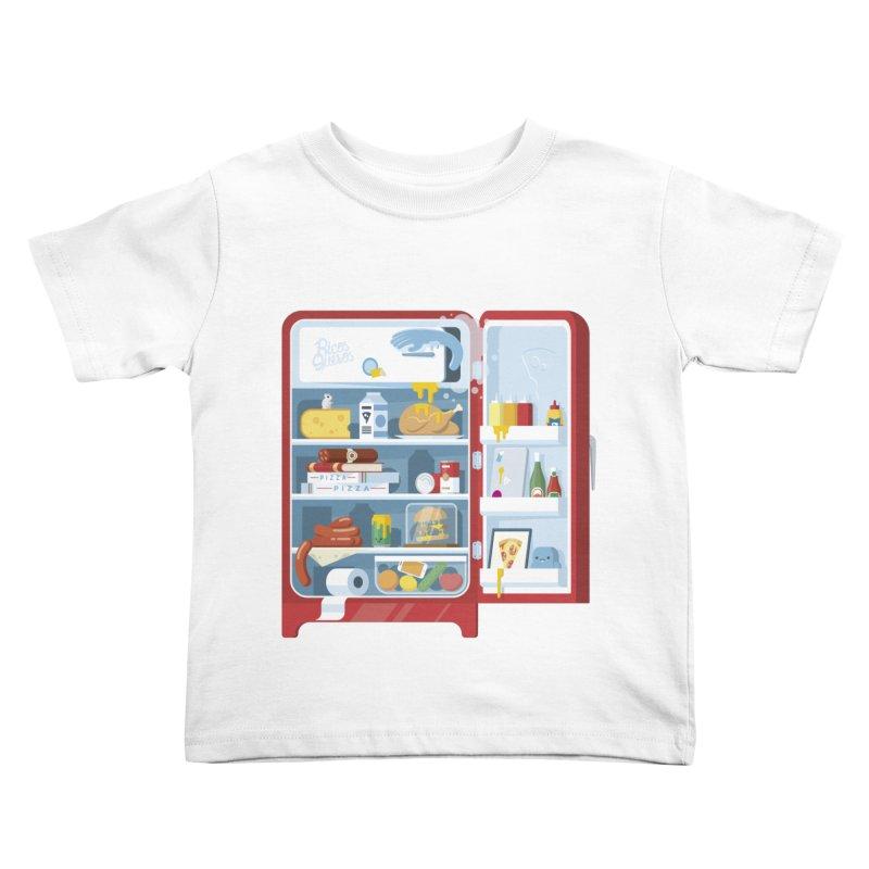 Our Fridge Kids Toddler T-Shirt by ricosquesos's Artist Shop