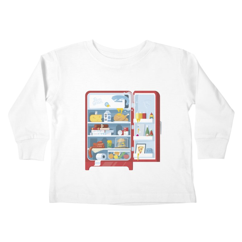 Our Fridge Kids Toddler Longsleeve T-Shirt by ricosquesos's Artist Shop